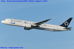 Chofu Spotter Ariaさんが、成田国際空港で撮影した全日空 787-9の航空フォト(飛行機 写真・画像)