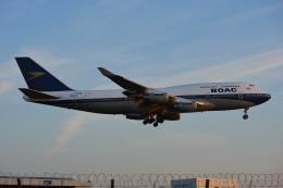 taiki17さんが、ロンドン・ヒースロー空港で撮影したブリティッシュ・エアウェイズ 747-436の航空フォト(飛行機 写真・画像)