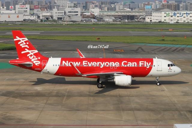 kan787allさんが、福岡空港で撮影したエアアジア・ジャパン A320-216の航空フォト(飛行機 写真・画像)