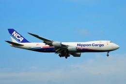 ちっとろむさんが、成田国際空港で撮影した日本貨物航空 747-8KZF/SCDの航空フォト(飛行機 写真・画像)