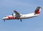 voyagerさんが、バンクーバー国際空港で撮影したエア・カナダ ジャズ DHC-8-301 Dash 8の航空フォト(飛行機 写真・画像)