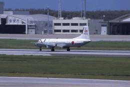 kumagorouさんが、那覇空港で撮影した海上自衛隊 YS-11A-404M-Aの航空フォト(飛行機 写真・画像)
