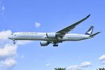 パンダさんが、成田国際空港で撮影したキャセイパシフィック航空 A350-1041の航空フォト(飛行機 写真・画像)