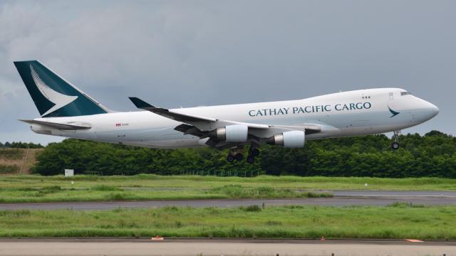 saoya_saodakeさんが、成田国際空港で撮影したキャセイパシフィック航空 747-467F/ER/SCDの航空フォト(飛行機 写真・画像)