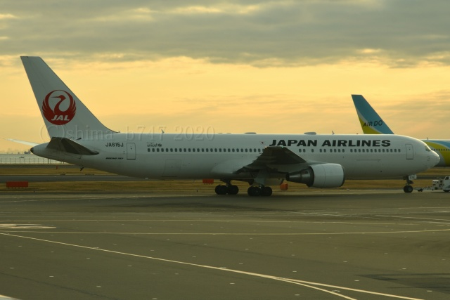 しまb747さんが、羽田空港で撮影した日本航空 767-346/ERの航空フォト(飛行機 写真・画像)