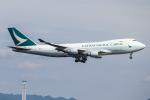 A.Tさんが、関西国際空港で撮影したキャセイパシフィック航空 747-467F/ER/SCDの航空フォト(飛行機 写真・画像)