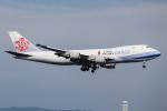 A.Tさんが、関西国際空港で撮影したチャイナエアライン 747-409F/SCDの航空フォト(飛行機 写真・画像)