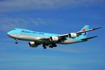 ちゃぽんさんが、成田国際空港で撮影した大韓航空 747-8B5F/SCDの航空フォト(飛行機 写真・画像)