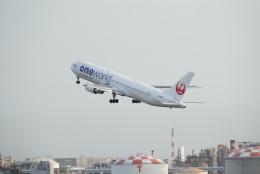 Matyaruさんが、羽田空港で撮影した日本航空 767-346の航空フォト(飛行機 写真・画像)