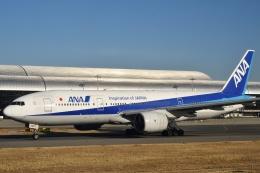 しまb747さんが、関西国際空港で撮影した全日空 777-281/ERの航空フォト(飛行機 写真・画像)