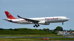 FlyingMonkeyさんが、成田国際空港で撮影したトランスアジア航空 A330-343Xの航空フォト(飛行機 写真・画像)