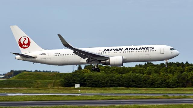 FlyingMonkeyさんが、成田国際空港で撮影した日本航空 767-346/ERの航空フォト(飛行機 写真・画像)