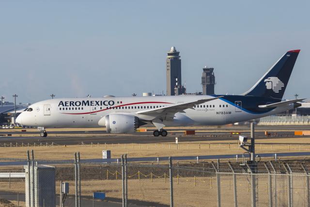 mameshibaさんが、成田国際空港で撮影したアエロメヒコ航空 787-8 Dreamlinerの航空フォト(飛行機 写真・画像)