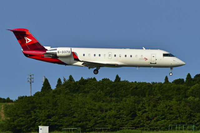パンダさんが、成田国際空港で撮影した中国個人所有 CL-600-2B19 Regional Jet CRJ-200ERの航空フォト(飛行機 写真・画像)