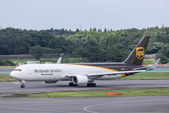 Y-Kenzoさんが、成田国際空港で撮影したUPS航空 767-34AF/ERの航空フォト(飛行機 写真・画像)