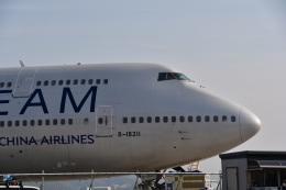 バークレーの犬さんが、福島空港で撮影したチャイナエアライン 747-409の航空フォト(飛行機 写真・画像)