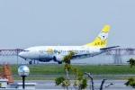 飛行機ゆうちゃんさんが、羽田空港で撮影したAIR DO 737-54Kの航空フォト(飛行機 写真・画像)