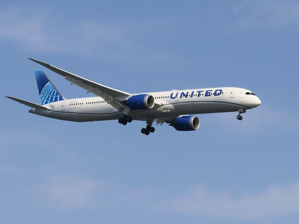 ぽん太さんのユナイテッド航空 Boeing 787-10 (N12010) 航空フォト