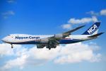 シグナス021さんが、成田国際空港で撮影した日本貨物航空 747-8KZF/SCDの航空フォト(飛行機 写真・画像)