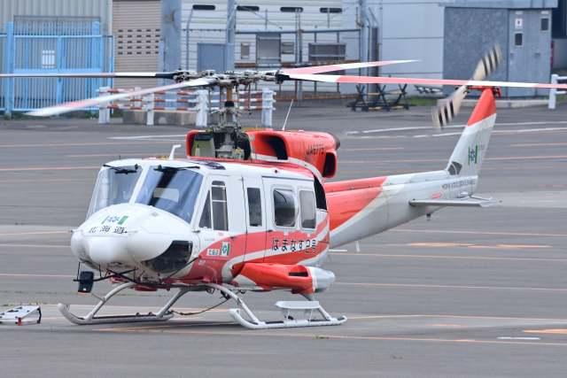 TeaYouさんが、札幌飛行場で撮影した北海道防災航空隊 412EPの航空フォト(飛行機 写真・画像)
