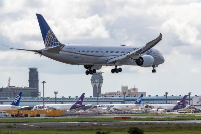 Kaaazさんが、成田国際空港で撮影したユナイテッド航空 787-9の航空フォト(飛行機 写真・画像)