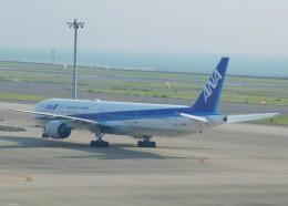 まひろさんが、中部国際空港で撮影した全日空 777-381の航空フォト(飛行機 写真・画像)