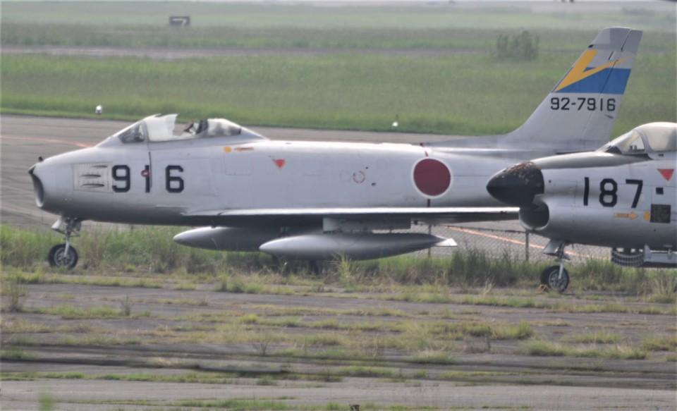海山さんの航空自衛隊 Mitsubishi F-86 Sabre  (92-7916) 航空フォト