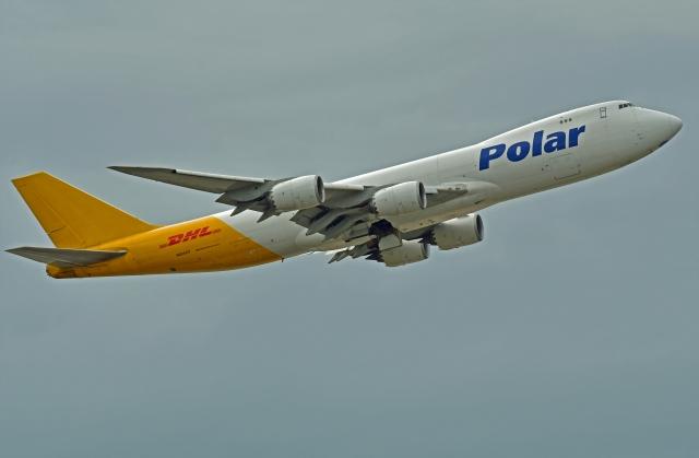 Souma2005さんが、香港国際空港で撮影したポーラーエアカーゴ 747-87UF/SCDの航空フォト(飛行機 写真・画像)