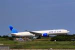 ☆ライダーさんが、成田国際空港で撮影したユナイテッド航空 777-322/ERの航空フォト(飛行機 写真・画像)