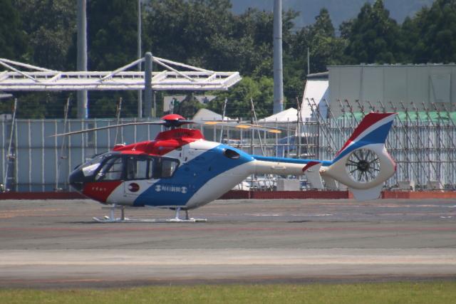 myoumyoさんが、熊本空港で撮影した毎日新聞社 EC135T1の航空フォト(飛行機 写真・画像)