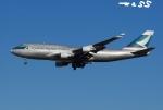 tassさんが、成田国際空港で撮影したキャセイパシフィック航空 747-412(BCF)の航空フォト(飛行機 写真・画像)