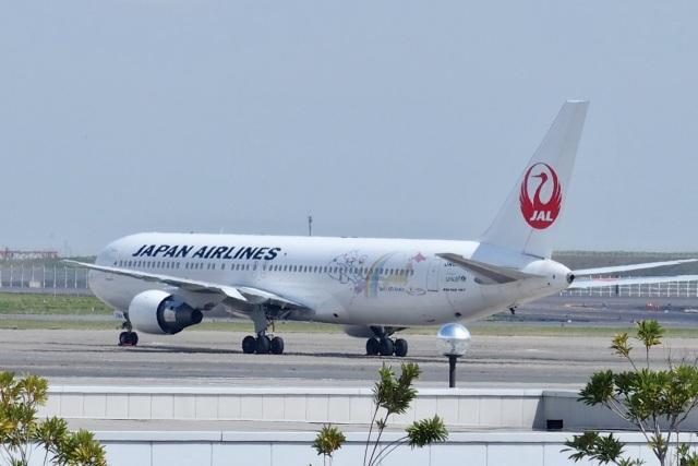 飛行機ゆうちゃんさんが、羽田空港で撮影した日本航空 767-346の航空フォト(飛行機 写真・画像)