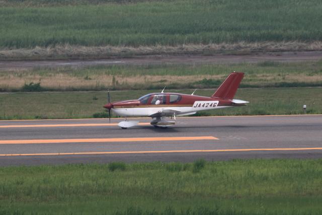 TAKAHIDEさんが、新潟空港で撮影した日本個人所有 TB-10 Tobagoの航空フォト(飛行機 写真・画像)