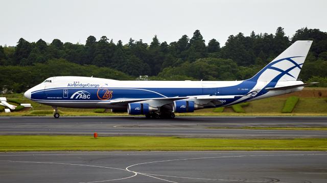 FlyingMonkeyさんが、成田国際空港で撮影したエアブリッジ・カーゴ・エアラインズ 747-406F/ER/SCDの航空フォト(飛行機 写真・画像)