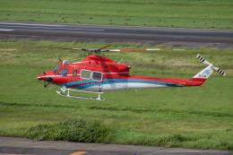 ゆーすきんさんが、名古屋飛行場で撮影した石川県消防防災航空隊 412EPの航空フォト(飛行機 写真・画像)
