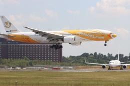 k_n_k01さんが、成田国際空港で撮影したノックスクート 777-212/ERの航空フォト(飛行機 写真・画像)