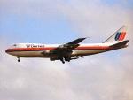 エルさんが、成田国際空港で撮影したユナイテッド航空 747-122の航空フォト(飛行機 写真・画像)