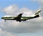 エルさんが、成田国際空港で撮影したエバーグリーン航空 747-121(A/SF)の航空フォト(飛行機 写真・画像)