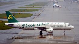 FlyingMonkeyさんが、関西国際空港で撮影した春秋航空 A320-214の航空フォト(飛行機 写真・画像)