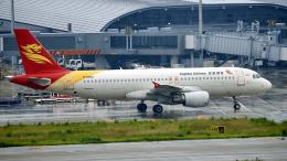 FlyingMonkeyさんが、関西国際空港で撮影した北京首都航空 A320-214の航空フォト(飛行機 写真・画像)