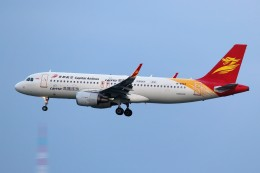 ばっきーさんが、那覇空港で撮影した北京首都航空 A320-214の航空フォト(飛行機 写真・画像)