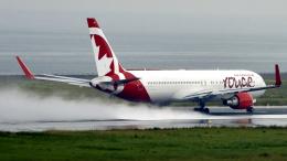 FlyingMonkeyさんが、関西国際空港で撮影したエア・カナダ・ルージュ 767-333/ERの航空フォト(飛行機 写真・画像)
