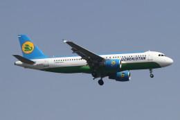BTYUTAさんが、インディラ・ガンディー国際空港で撮影したウズベキスタン航空 A320-214の航空フォト(飛行機 写真・画像)