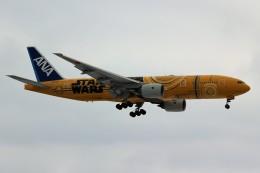ばっきーさんが、新千歳空港で撮影した全日空 777-281/ERの航空フォト(飛行機 写真・画像)