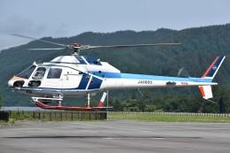 とびたさんが、飛騨エアパークで撮影した中日本航空 AS355F2 Ecureuil 2の航空フォト(飛行機 写真・画像)