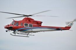 とびたさんが、名古屋飛行場で撮影した石川県消防防災航空隊 412EPの航空フォト(飛行機 写真・画像)