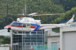 とびたさんが、静岡ヘリポートで撮影した国土交通省 地方整備局 412EPの航空フォト(飛行機 写真・画像)
