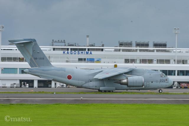 マツさんが、鹿児島空港で撮影した航空自衛隊 C-2の航空フォト(飛行機 写真・画像)