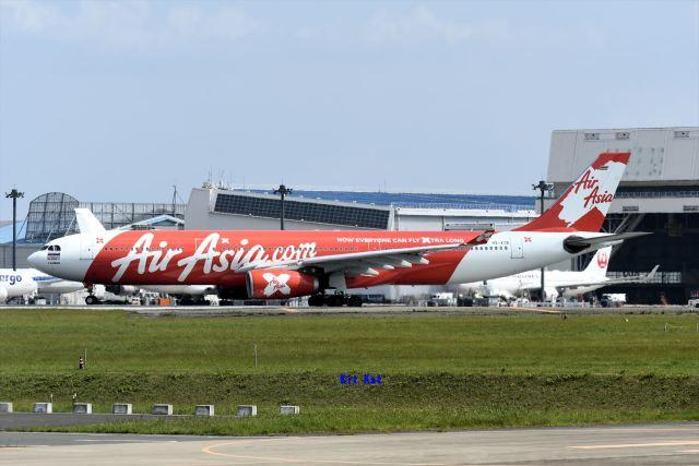 キットカットさんが、成田国際空港で撮影したタイ・エアアジア・エックス A330-343Eの航空フォト(飛行機 写真・画像)