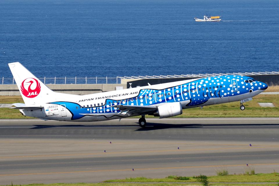 yabyanさんの日本トランスオーシャン航空 Boeing 737-400 (JA8939) 航空フォト
